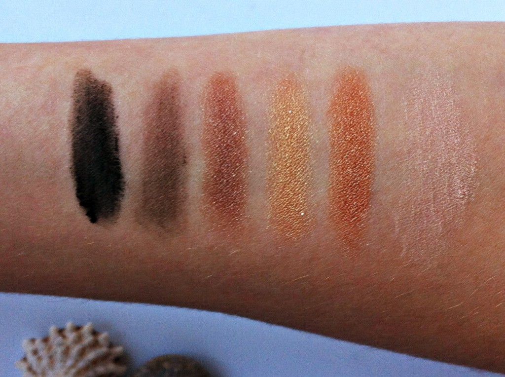 All About the Eyes Palette Swatches