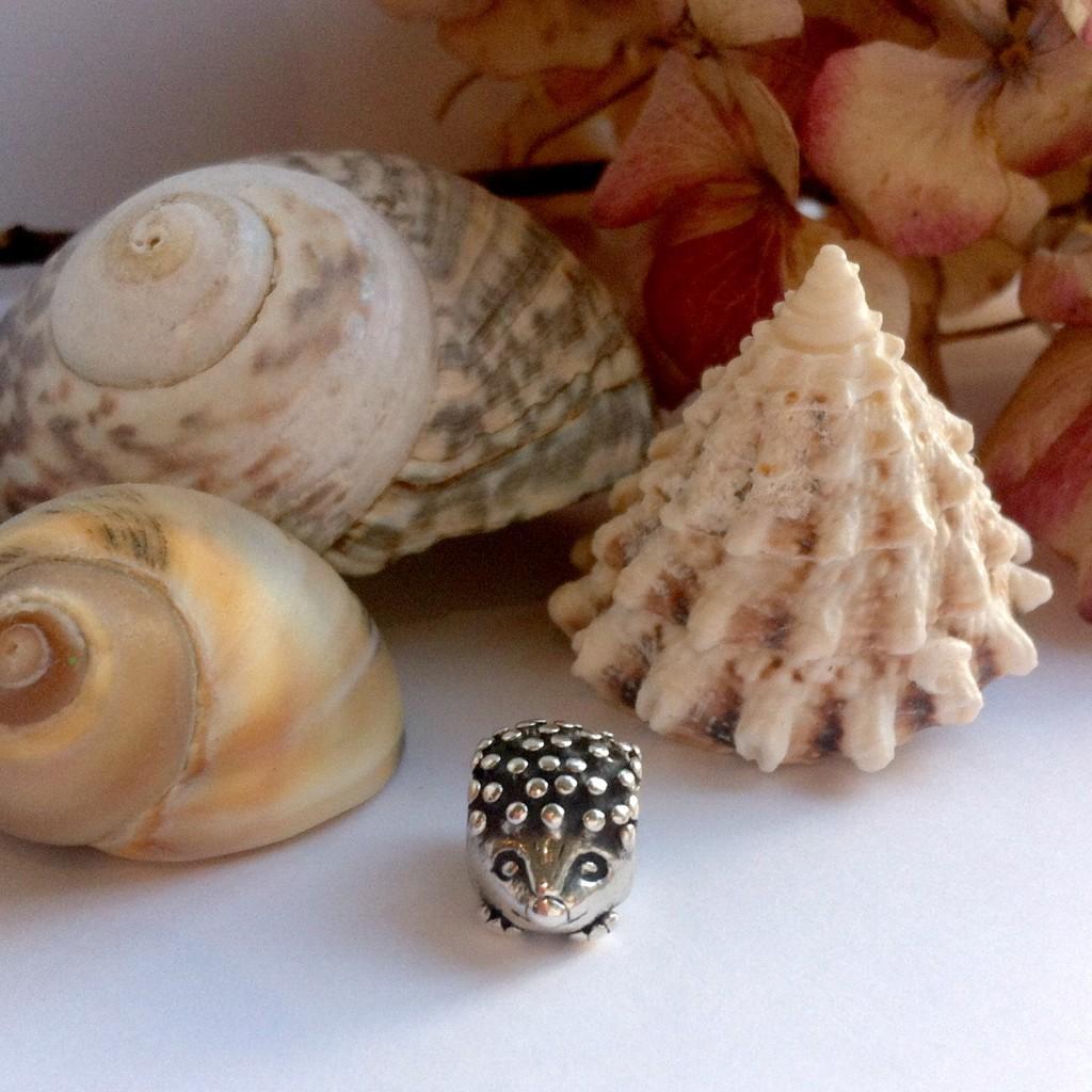 Pandora Hedgehog Charm