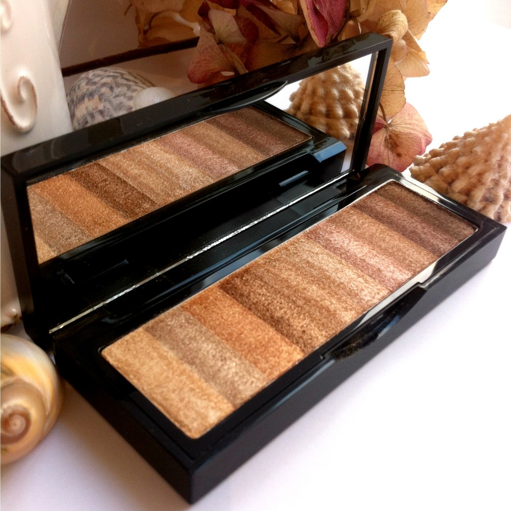 Bobbi Brown Shimmer Brick Raw Sugar side-angle