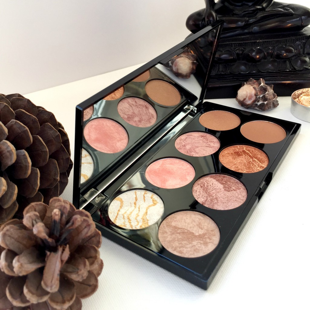 Makeup Revolution Ultra Blush and Contour Palette Golden Sugar Palette