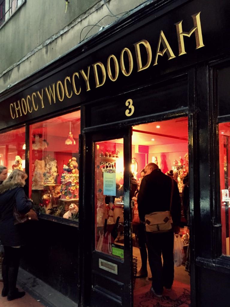 Choccywoccydoodah Store Front