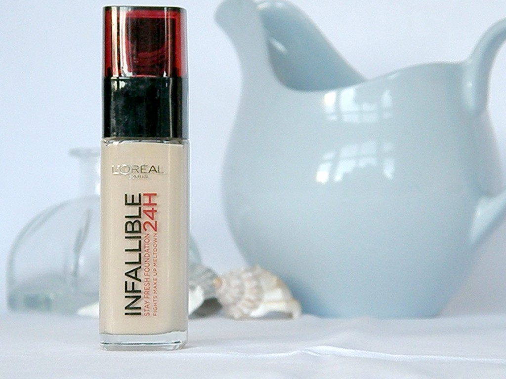 February Empties - L'Oreal Infallible Foundation