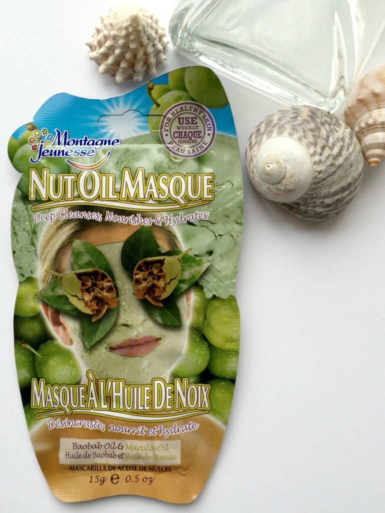 Montagne Jeunesse Nut Oil Face Mask