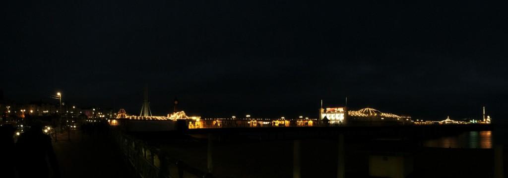 Brighton Pier Panorama
