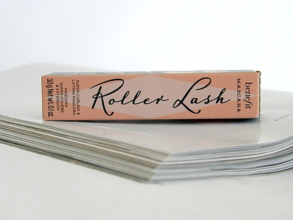 Benefit Roller Lash Packaging