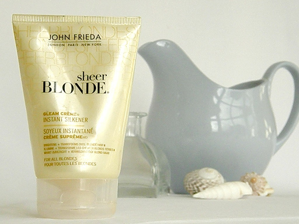 February Empties - Sheer Blonde Instant Silkener