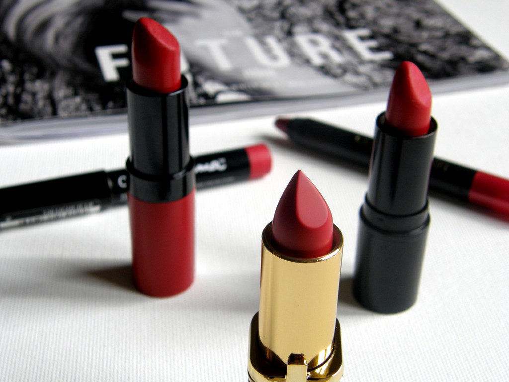 Top 5: Bold Red Lip