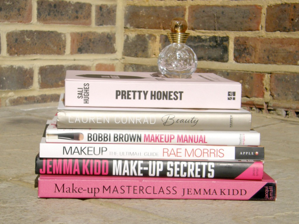 Makeup and Beauty Books Stack