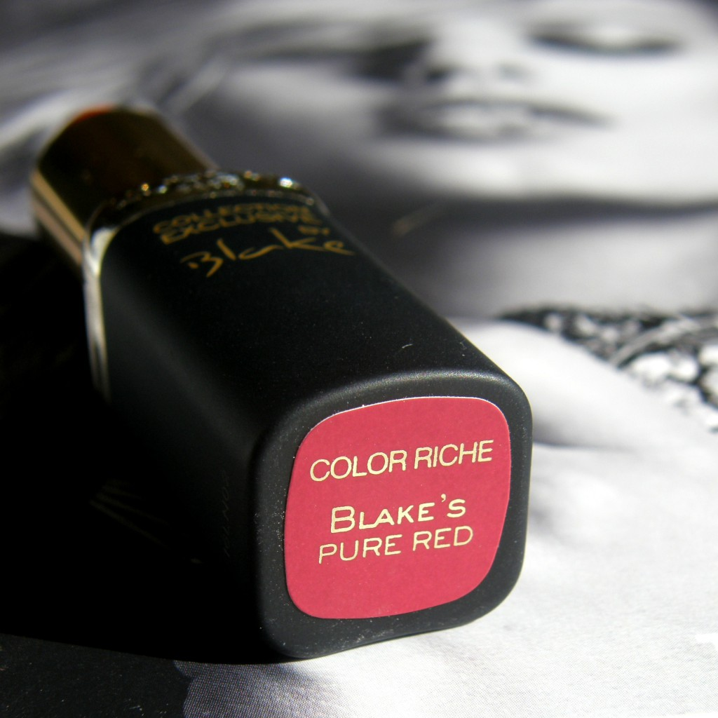 L'Oreal Paris Color Riche Exclusive Pure Reds - Blake Bottom