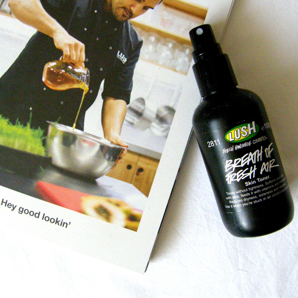 Lush Empties: Breath of Fresh Air Toner