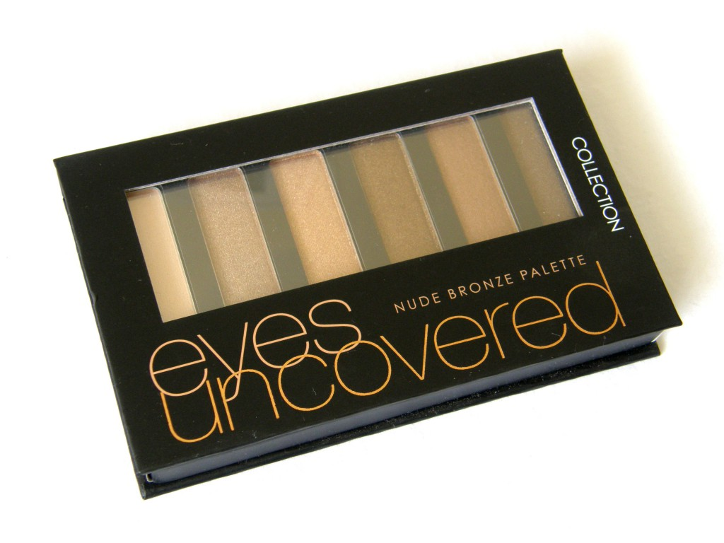 Eyes Uncovered Nude Bronze Palette - closed