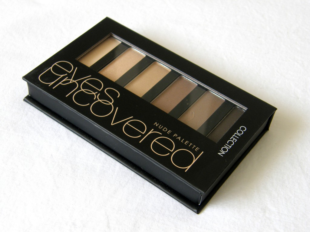 Eyes Uncovered Nude Palette - closed