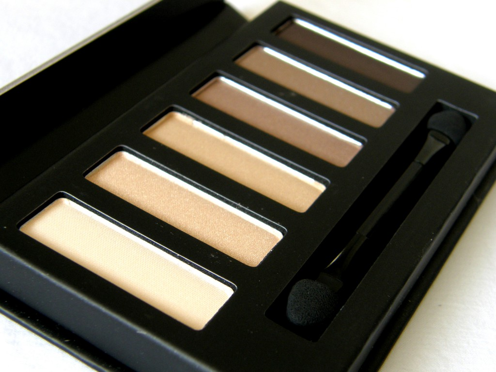 Eyes Uncovered Nude Palette - shades