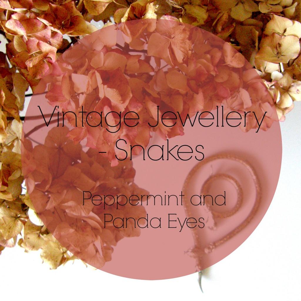 Vintage Jewellery – Snakes