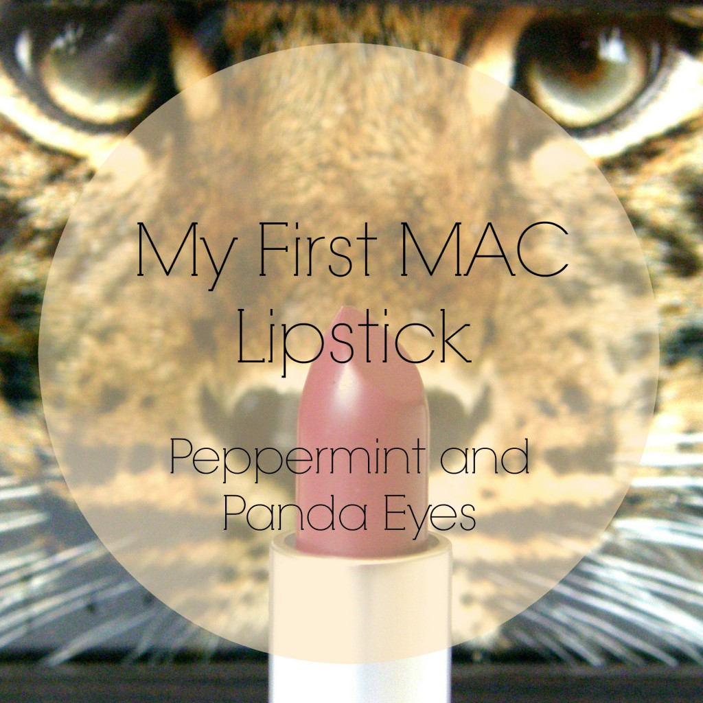 MAC Lipstick in Rebel