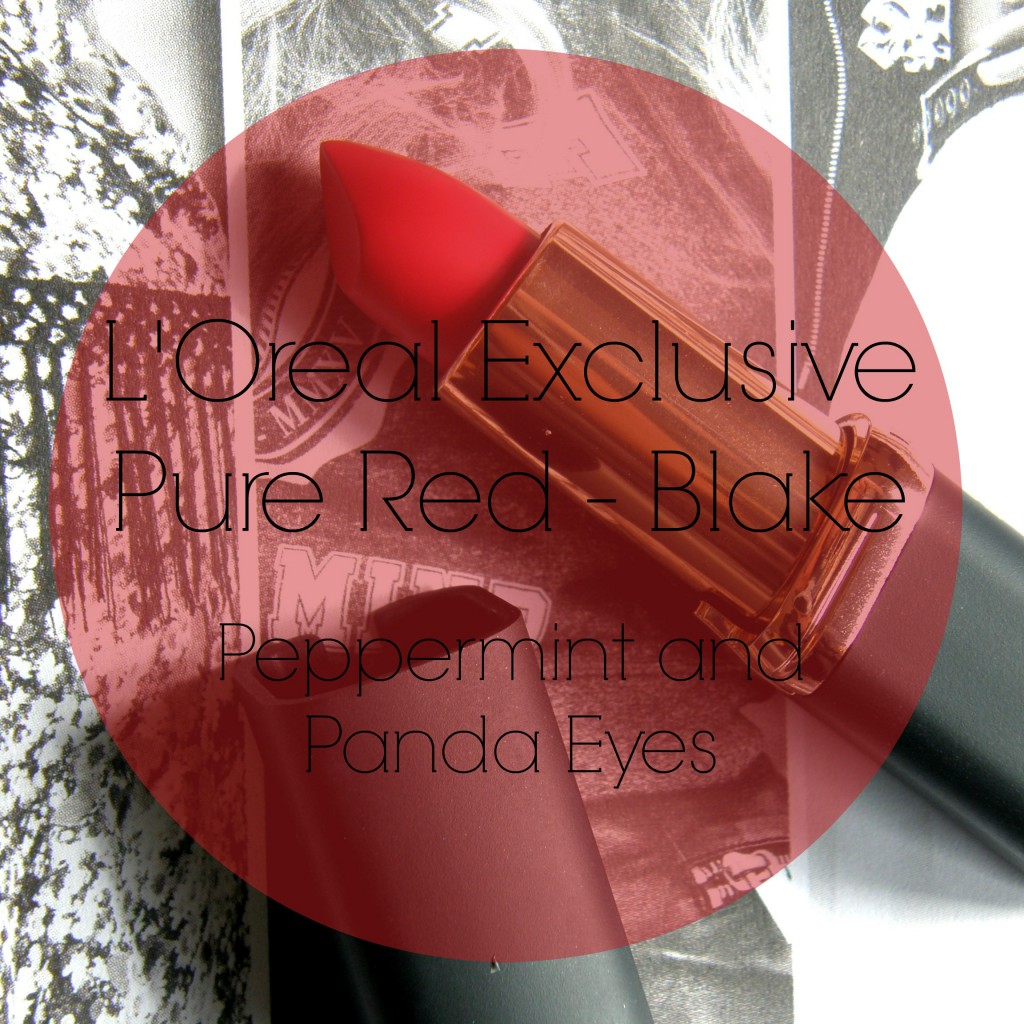 L'Oreal Exclusive Pure Red - Blake