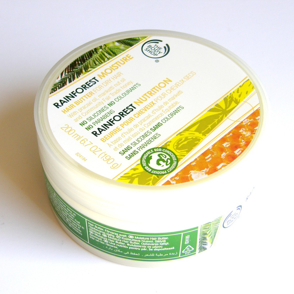 Body Shop: Rainforest Moisture Hair Butter