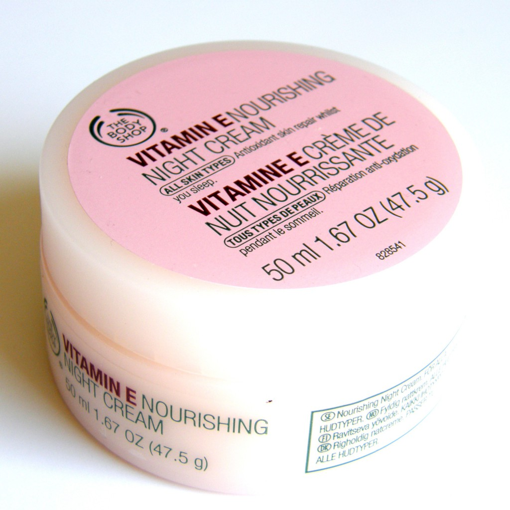 Body Shop: Vitamin E Night Cream
