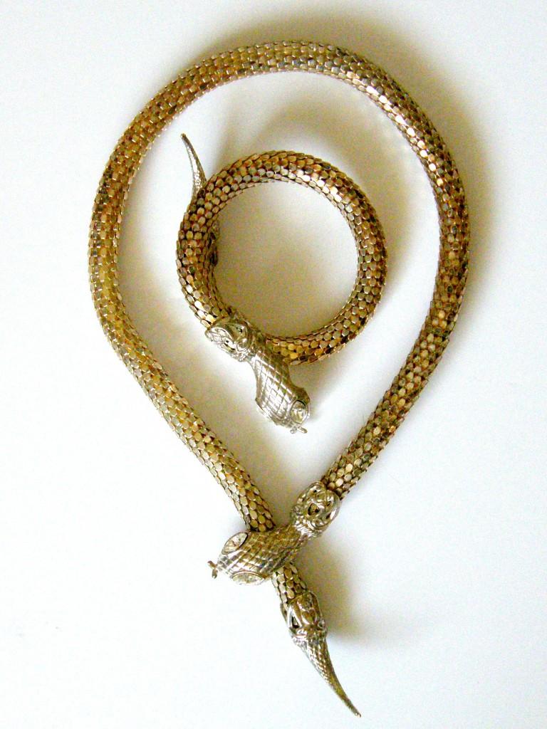 Vintage Snake Jewellery