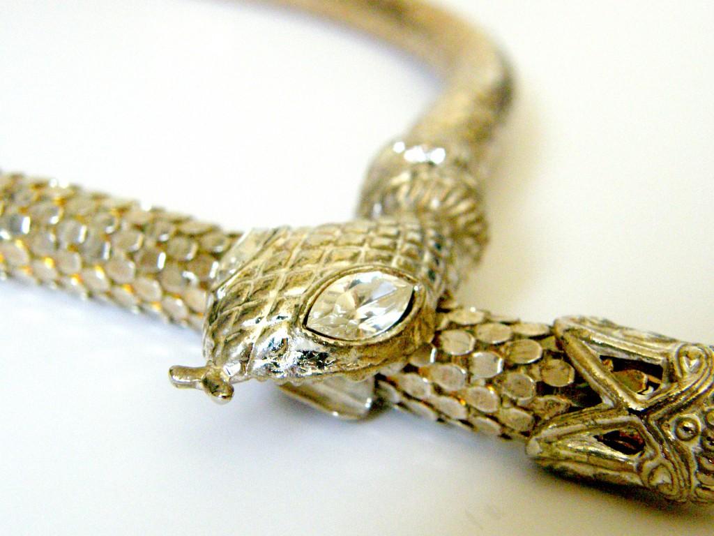 Vintage Snake Choker