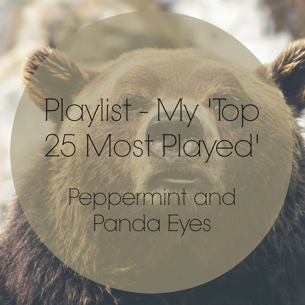 My 'Top 25 Most Played' Playlist