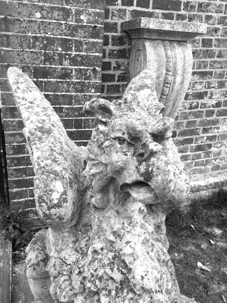 Polesden Lacey - Gargoyle