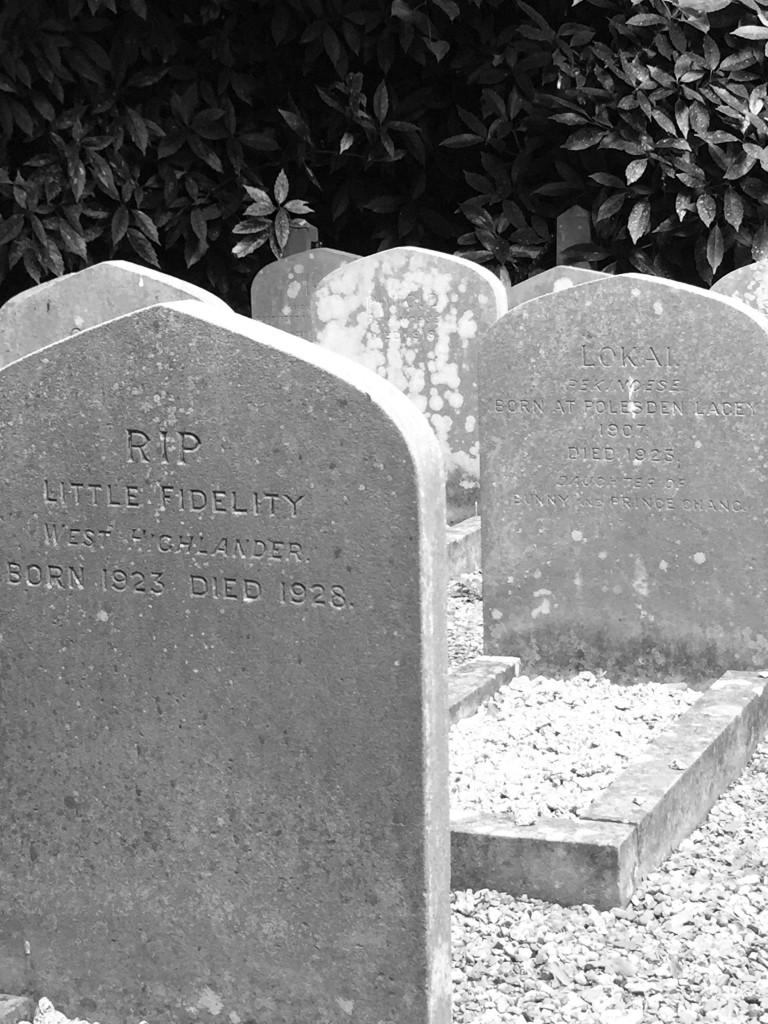 Polesden Lacey - pet graveyard