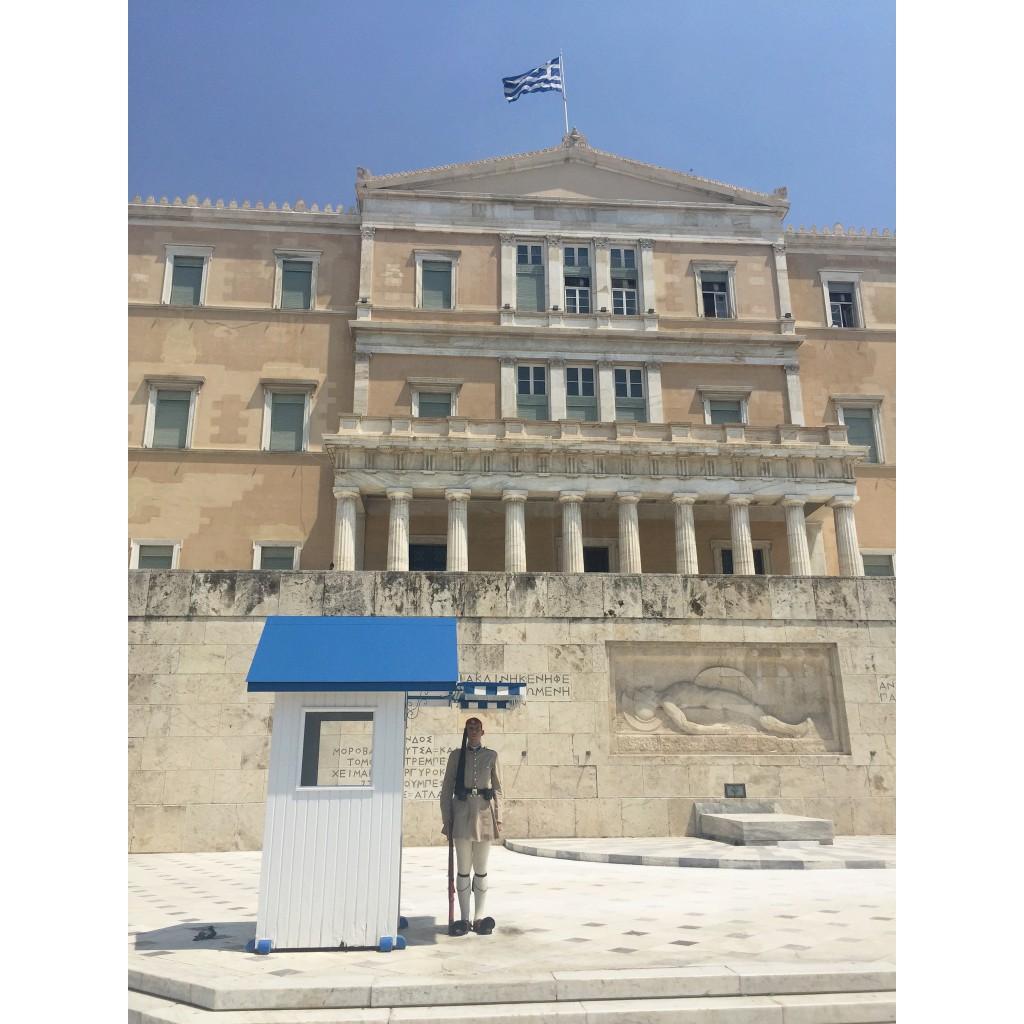 Greece Athens Hellenic Parliament