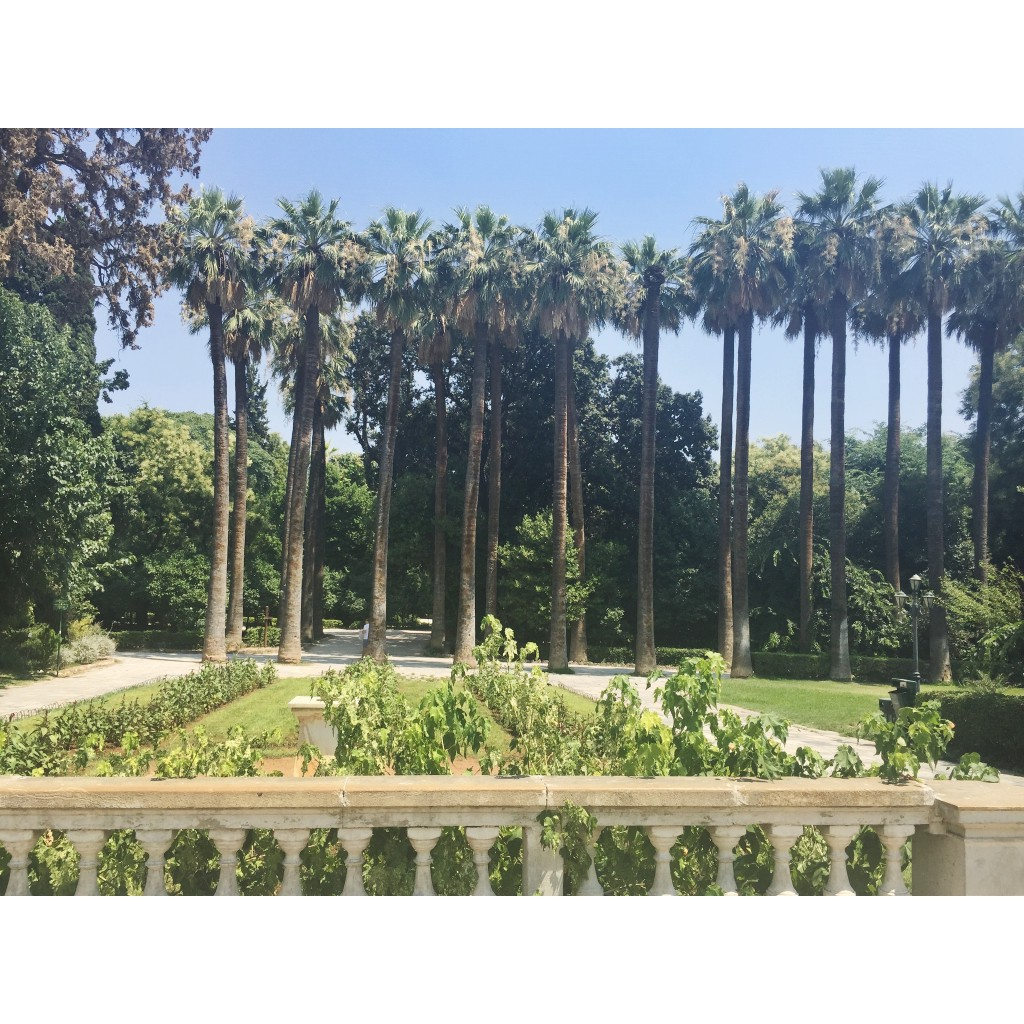 Greece Athens National Gardens
