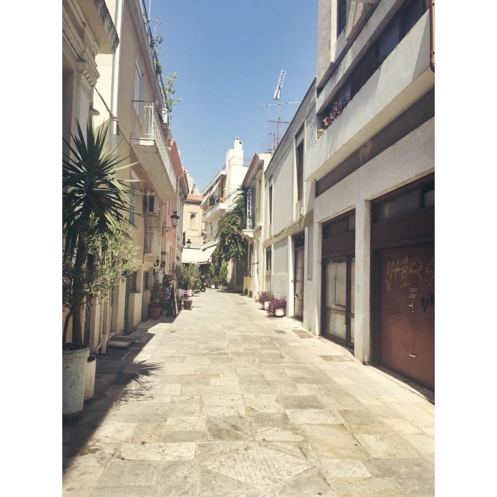 Greece Athens Streets