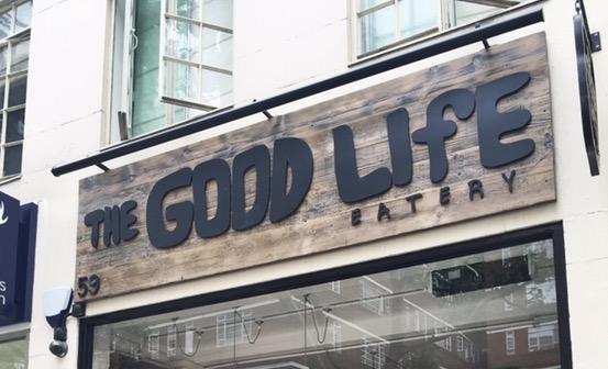 The Good Life Eatery - sign