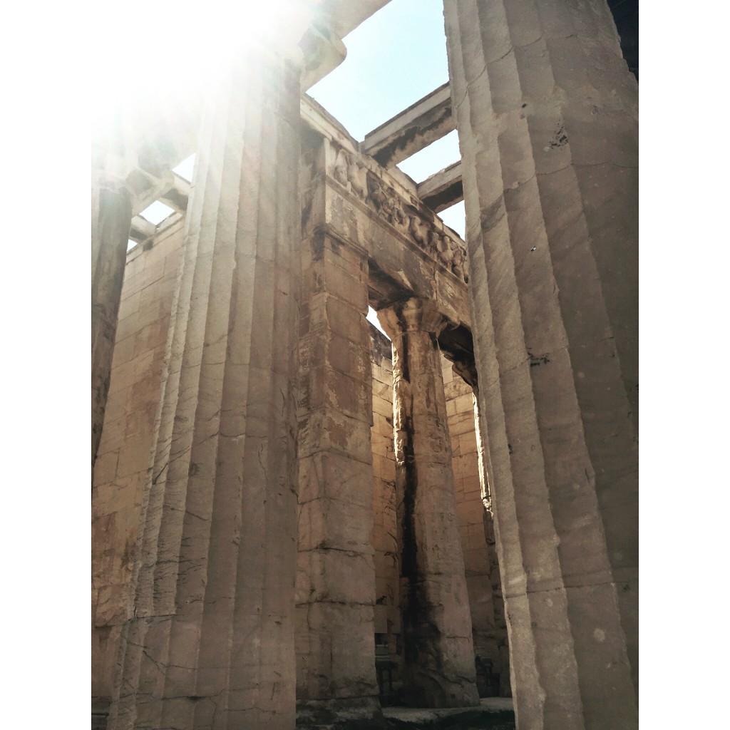 Greece Athens Ancient Agora