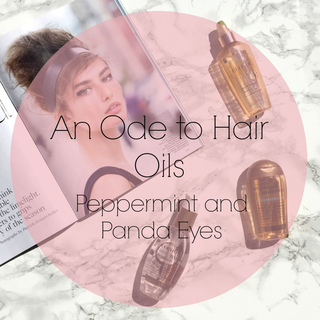 An Ode to Hair Oils