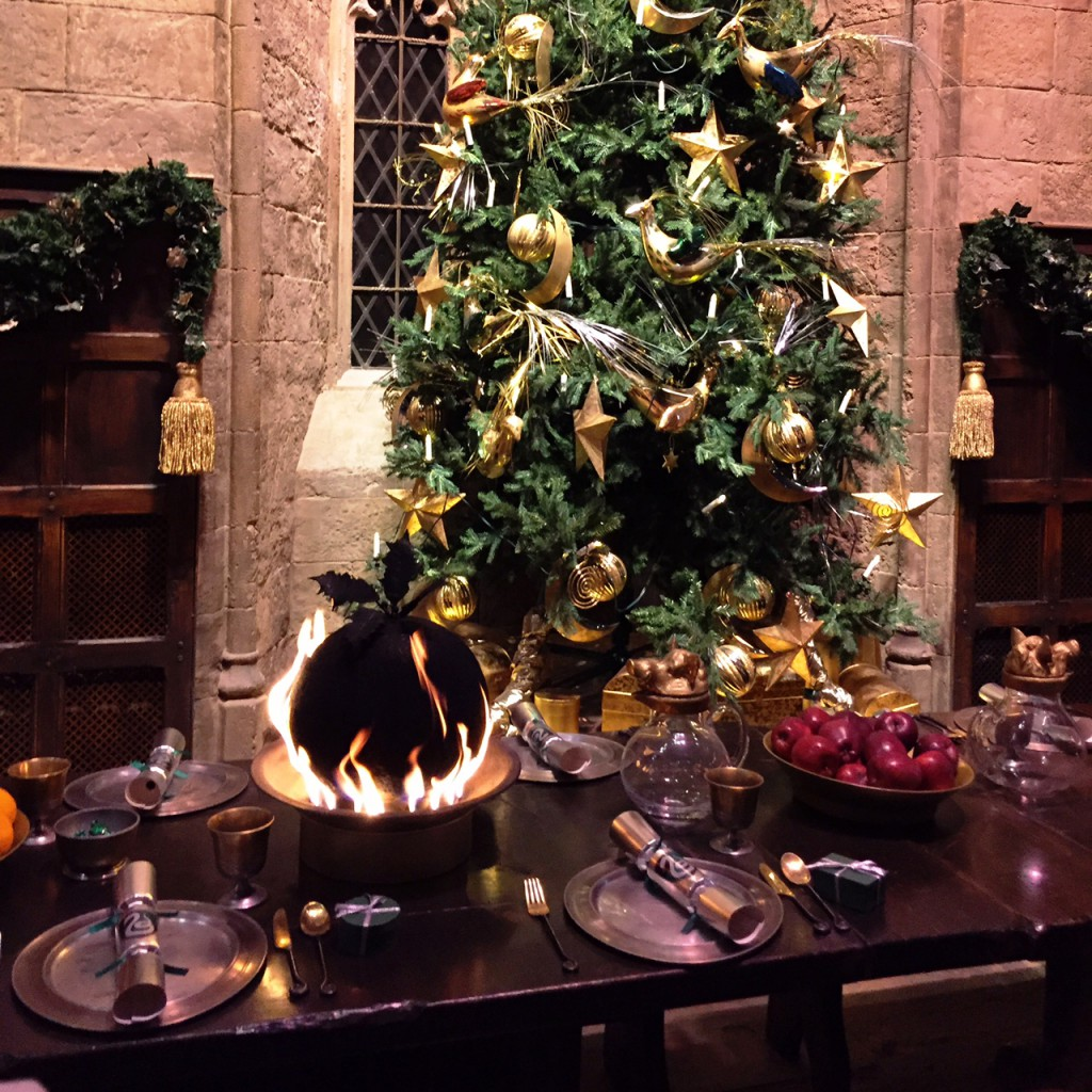 Warner Bros Studio Tour - The Making of Harry Potter Christmas Pudding
