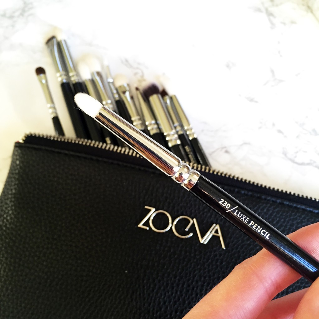 Zoeva Complete Eye Brushes Set 230 Luxe Pencil Brush