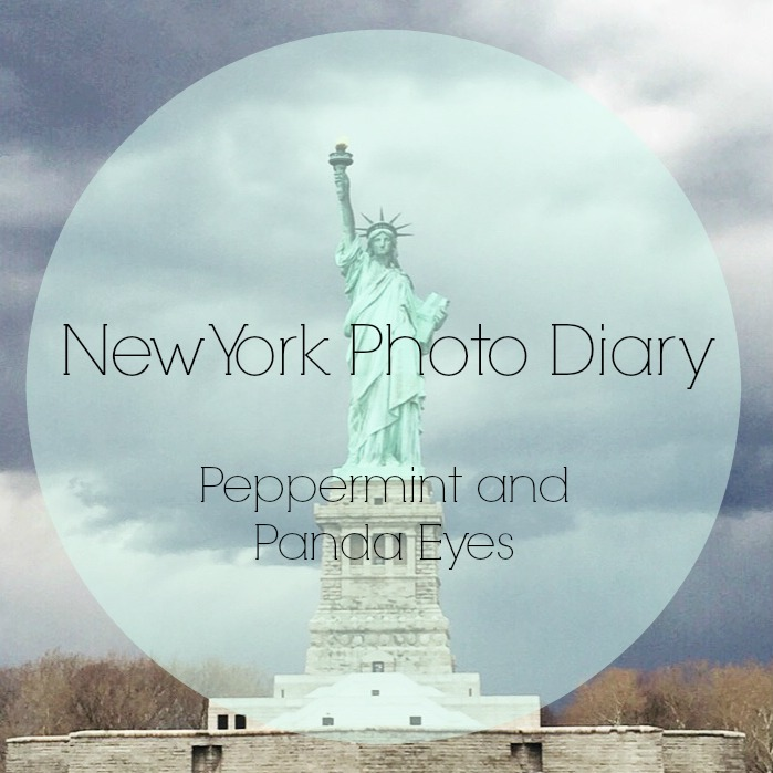 New York Photo Diary Title