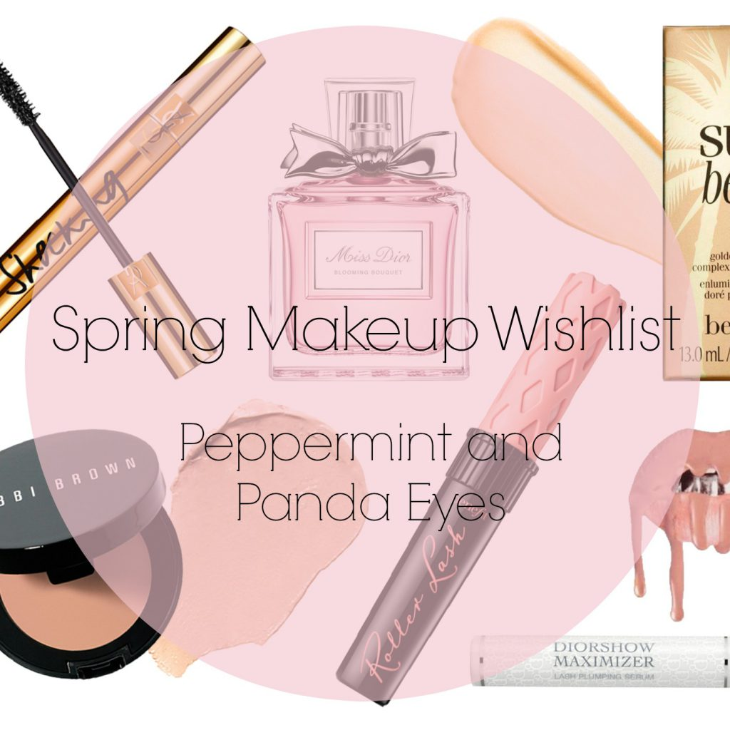 Spring Makeup Wishlist Title