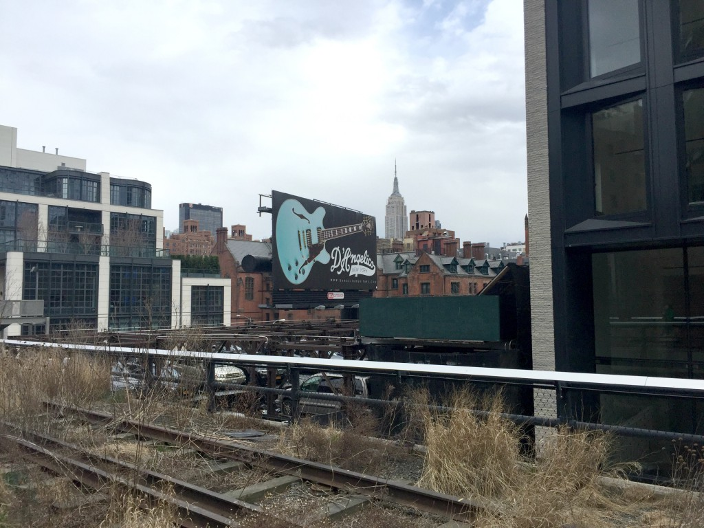 High Line Walk NYC