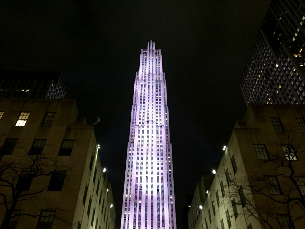Rockerfeller Centre NYC