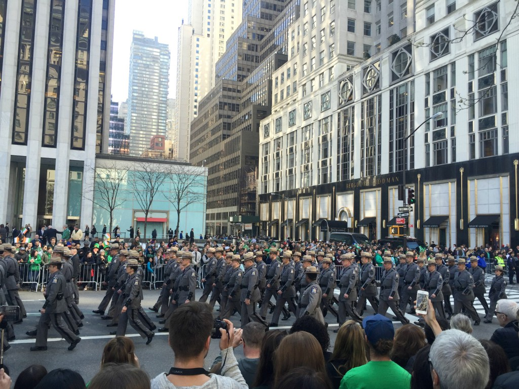 St Patrick's Day Parade, NYC